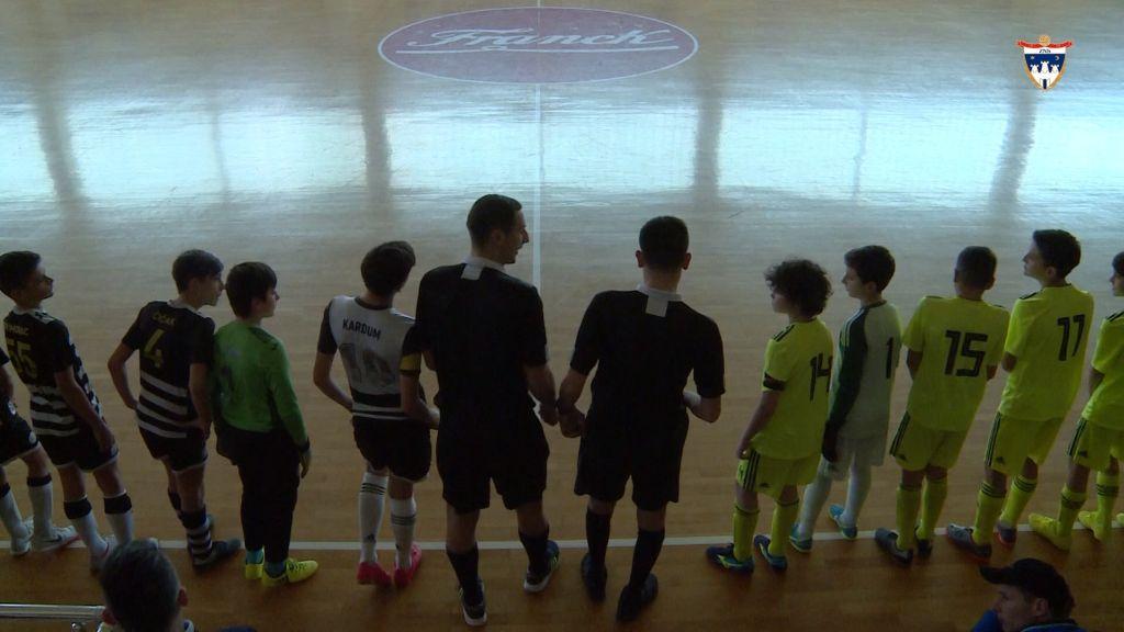 Finale 13. dvoranskog prvenstva ZNS-a za mlađe pionire